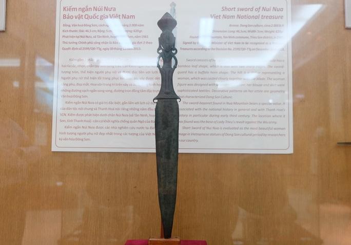 3 bảo vật quốc gia độc nhất vô nhị ở Bảo tàng Thanh Hóa - Ảnh 1.