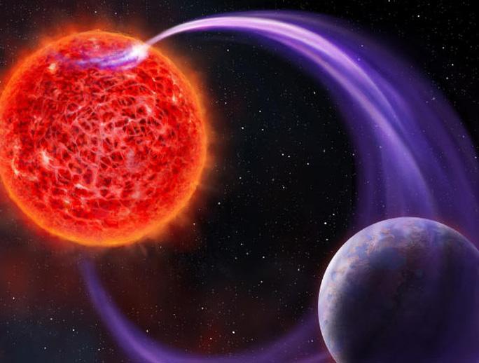Bắt được tín hiệu radio lạ một siêu Trái Đất phát tới địa cầu - Ảnh 1.