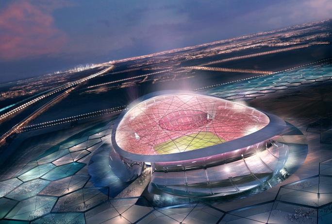Viên ngọc Khalifa Stadium bừng sáng giữa sa mạc Qatar - Ảnh 3.