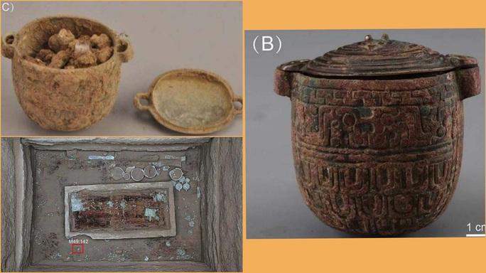Sốc với món đồ hiện đại trong mộ cổ vị phu nhân 2.700 tuổi - Ảnh 1.