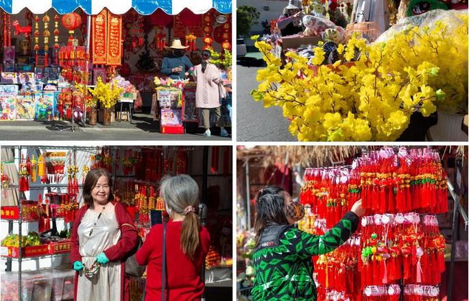 Mỹ: Chợ hoa Tết của người Việt ở khu Phước Lộc Thọ gây bất ngờ - Ảnh 4.