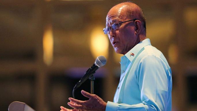 Philippines tiết lộ lý do không tập trận với Mỹ ở biển Đông - Ảnh 1.