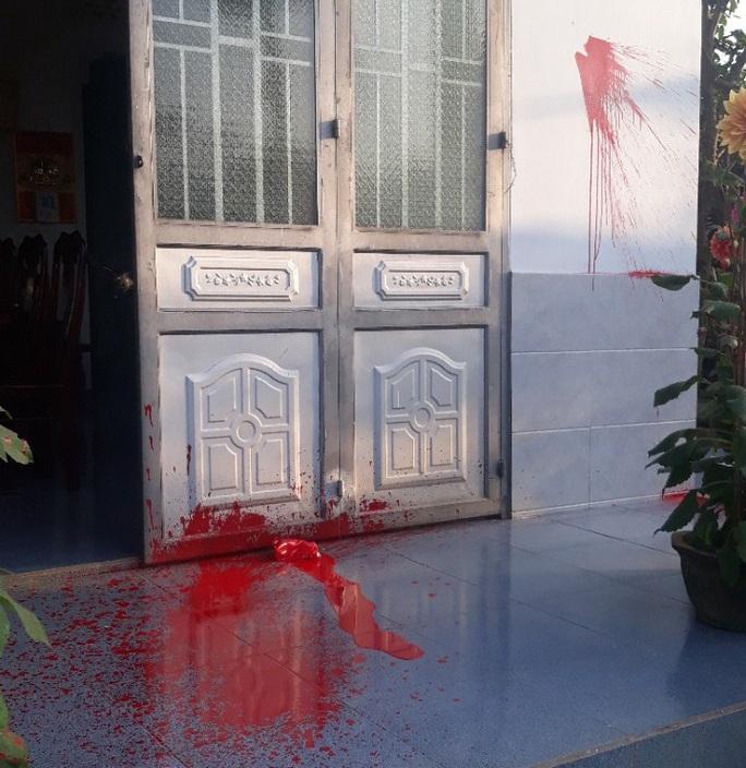 Nhà nguyên trưởng Phòng Giáo dục bị tạt sơn đêm mùng 1 Tết - Ảnh 1.