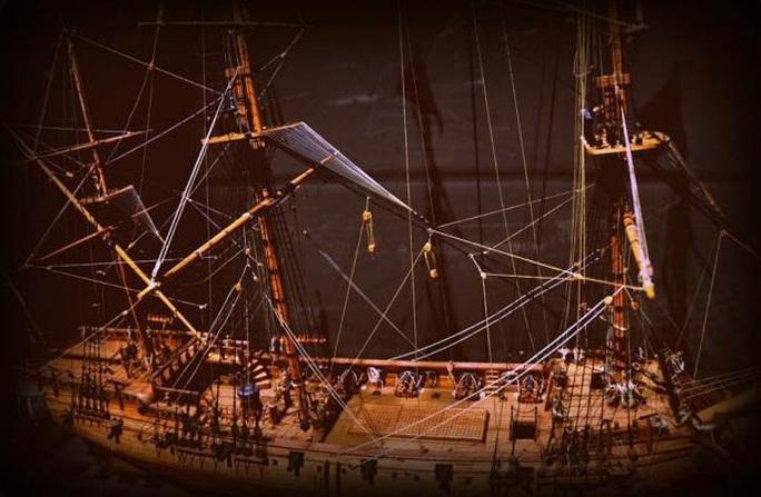 Quét tia X, 6 cướp biển hiện hình trong tàu ma đầy vàng  300 tuổi - Ảnh 1.