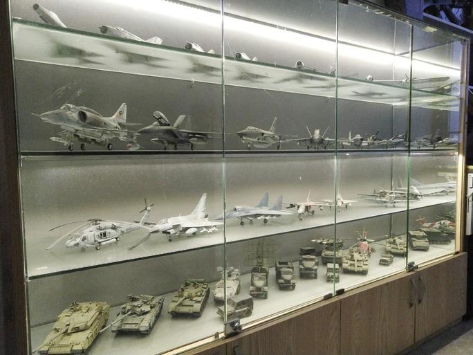 Chiêm ngưỡng bộ sưu tập máy bay mô hình gần 100 chiến đấu cơ của vị thượng tá  - Ảnh 2.