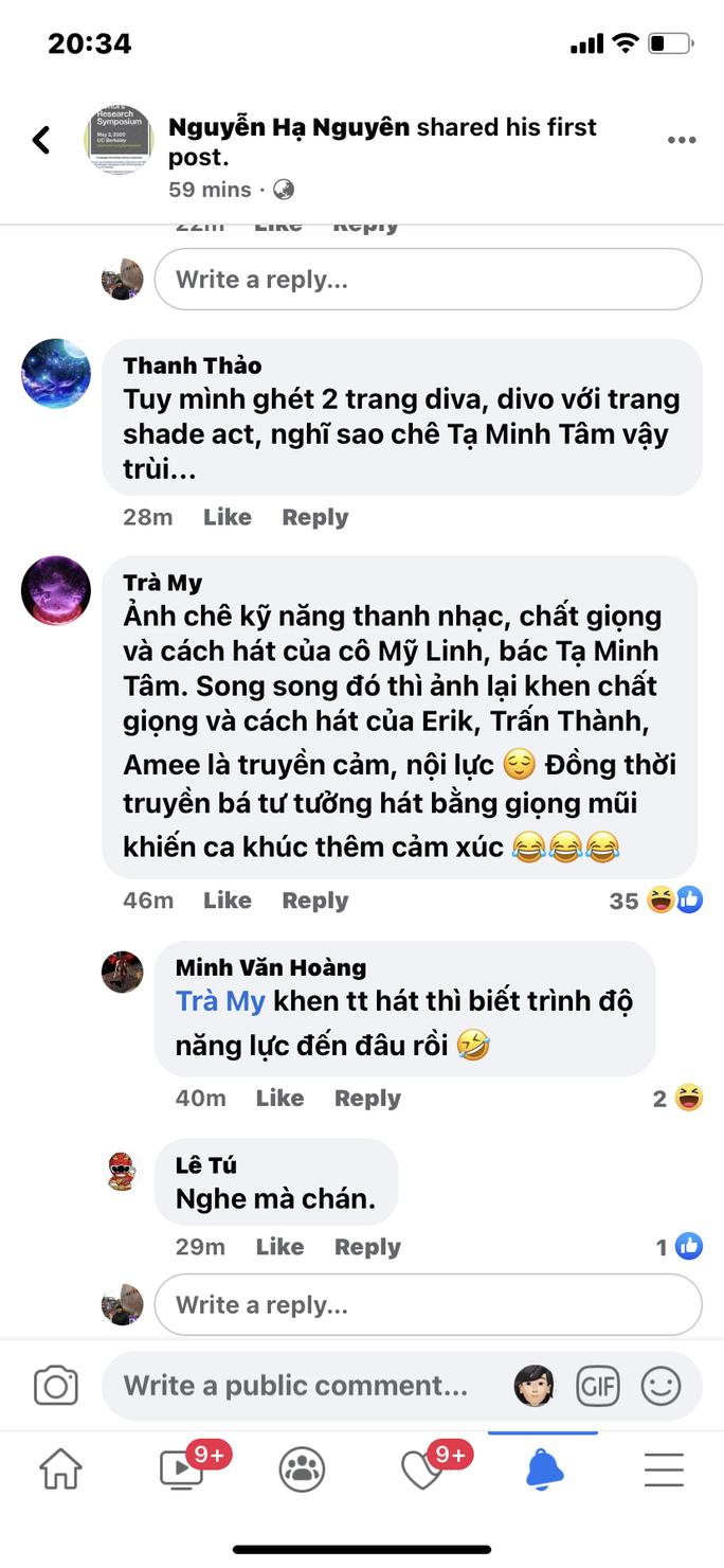 Bị chê hát dở, NSND Tạ Minh Tâm nói gì? - Ảnh 3.