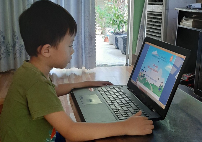 TP HCM: Trường học sẵn sàng phương án dạy trực tuyến sau Tết - Ảnh 1.