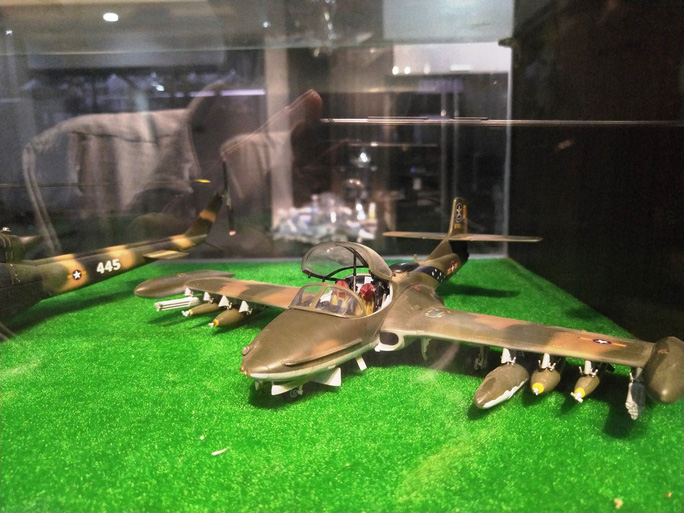Chiêm ngưỡng bộ sưu tập máy bay mô hình gần 100 chiến đấu cơ của vị thượng tá  - Ảnh 7.