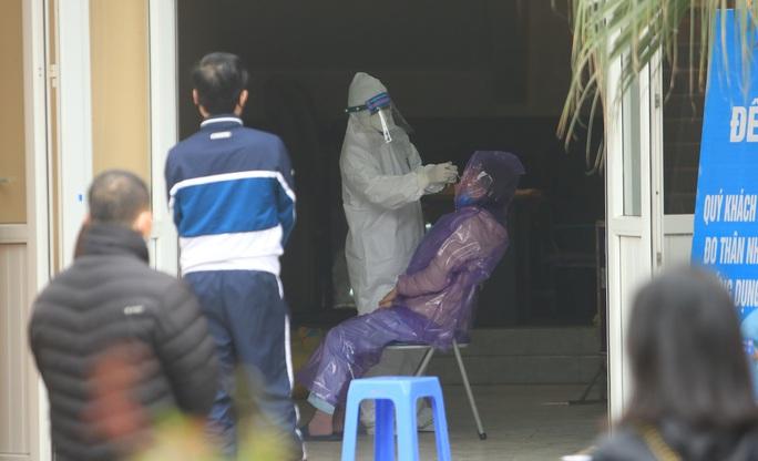Xét nghiệm SARS-CoV-2 với người đã đi, đến, về từ ổ dịch Cẩm Giàng - Ảnh 2.