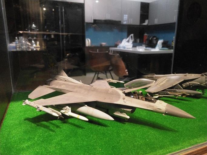 Chiêm ngưỡng bộ sưu tập máy bay mô hình gần 100 chiến đấu cơ của vị thượng tá  - Ảnh 6.