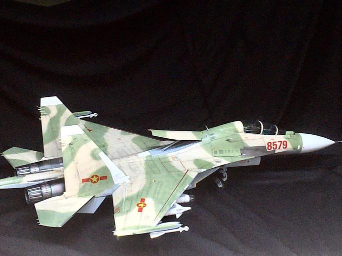 Chiêm ngưỡng bộ sưu tập máy bay mô hình gần 100 chiến đấu cơ của vị thượng tá  - Ảnh 5.