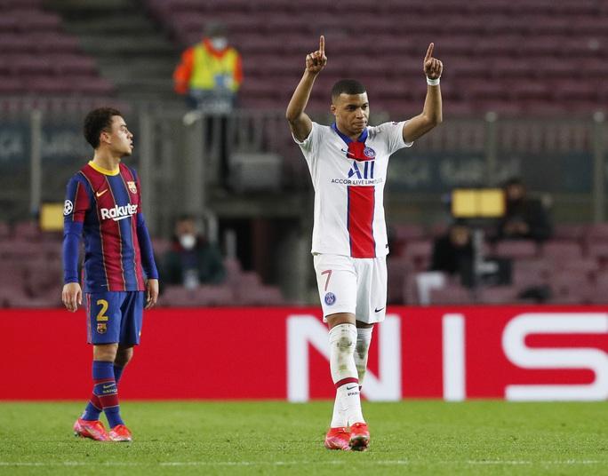 Mbappe thăng hoa với hat-trick, PSG vùi dập Barcelona tại Nou Camp - Ảnh 5.
