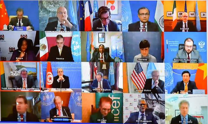 Phó Thủ tướng tham gia thảo luận cấp cao về vắc-xin Covid-19 tại Liên Hiệp Quốc - Ảnh 1.