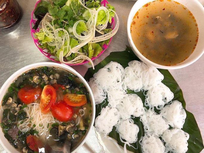 Bài dự thi Làm báo cùng Báo Người Lao Động: Đầu xuân đi ăn bún ốc ở Hà Nội - Ảnh 1.