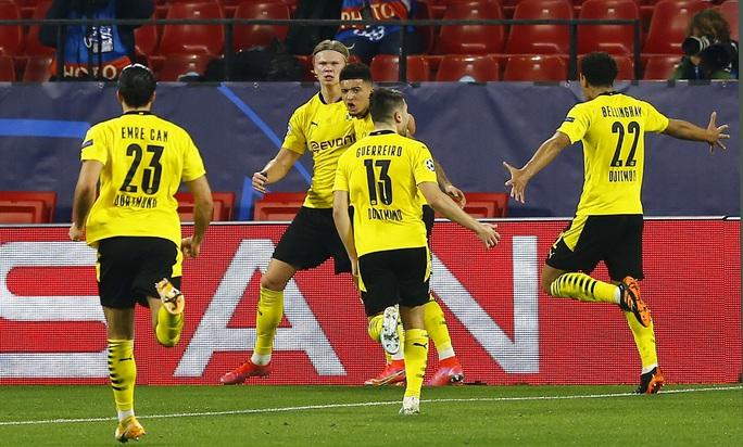 Dortmund ngược dòng siêu đỉnh với Haaland, Sevilla ngã ngựa sân nhà - Ảnh 6.
