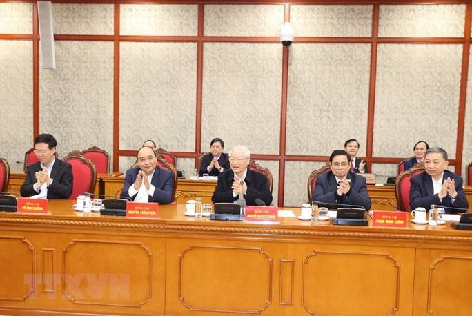 Tổng Bí thư, Chủ tịch nước chủ trì phiên họp đầu tiên của Bộ Chính trị, Ban Bí thư - Ảnh 1.