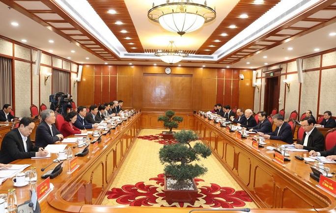 Tổng Bí thư, Chủ tịch nước chủ trì phiên họp đầu tiên của Bộ Chính trị, Ban Bí thư - Ảnh 2.