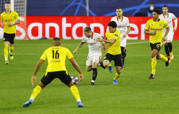 Dortmund ngược dòng siêu đỉnh với Haaland, Sevilla ngã ngựa sân nhà - Ảnh 1.