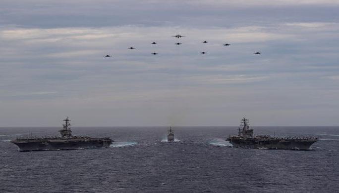 Bộ tứ gia tăng sức ép lên Trung Quốc trên biển Đông - Ảnh 2.