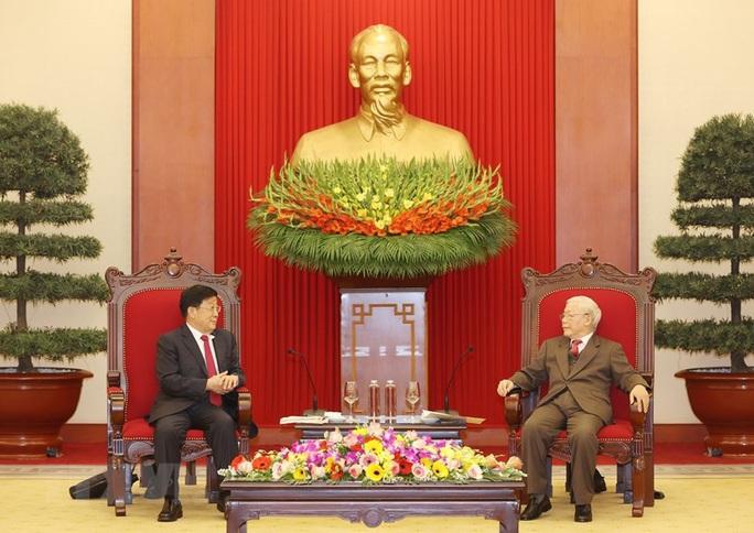 Tổng Bí thư, Chủ tịch nước Nguyễn Phú Trọng tiếp Bộ trưởng Công an Trung Quốc - Ảnh 1.