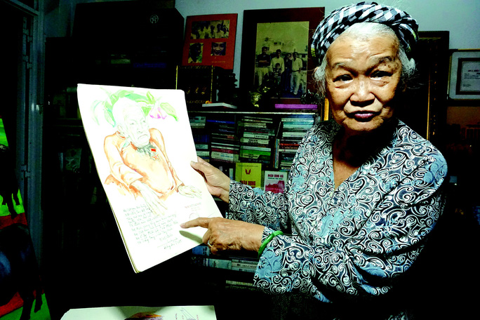 Đặng Ái Việt - nữ họa sĩ đặc biệt - Ảnh 1.