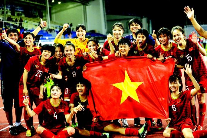 Tuyển nữ  Việt Nam vô địich SEA Games 30
