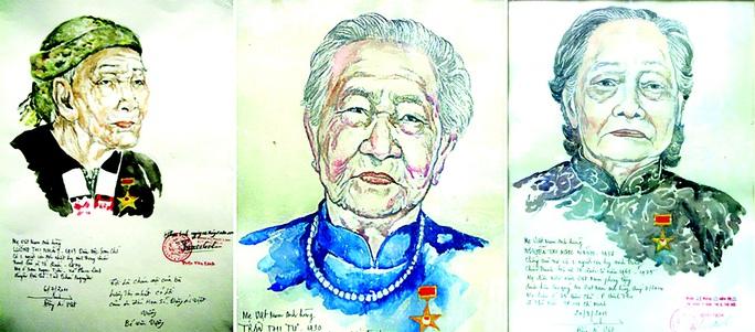 Đặng Ái Việt - nữ họa sĩ đặc biệt - Ảnh 2.