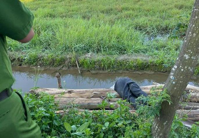 Say rượu, người đàn ông ở Quảng Nam rơi xuống mương nước tử nạn - Ảnh 1.