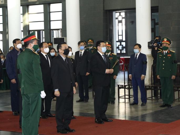 Tổng Bí thư, Chủ tịch nước gửi vòng hoa tới viếng nguyên Phó Thủ tướng Trương Vĩnh Trọng - Ảnh 4.