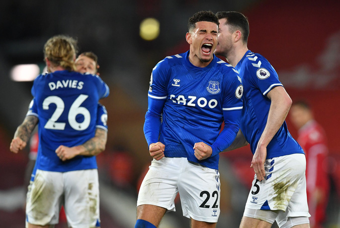 Địa chấn Anfield, Liverpool thua tan tác Everton trận derby Merseyside - Ảnh 8.