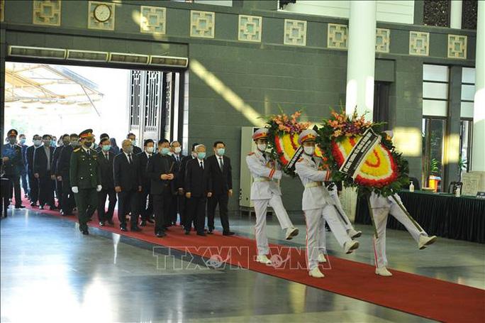 Tổng Bí thư, Chủ tịch nước gửi vòng hoa tới viếng nguyên Phó Thủ tướng Trương Vĩnh Trọng - Ảnh 1.