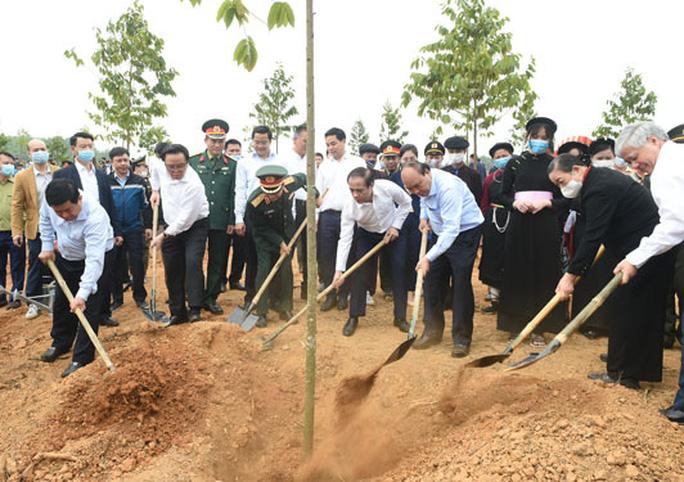 Tiếp tục phát động trồng cây Vì một Việt Nam xanh - Ảnh 1.