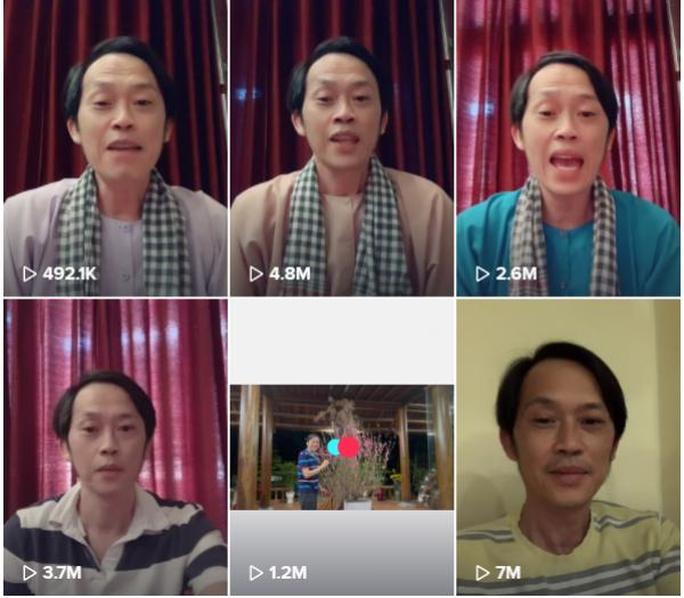 Sau Youtube, Hoài Linh gây bão like trên vũ trụ Tik Tok - Ảnh 1.