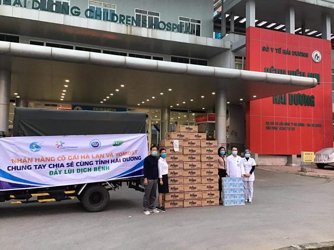 Gần 40.000 sản phẩm sữa của Cô Gái Hà Lan, Yomost, Friso đến với Hải Dương - Ảnh 1.