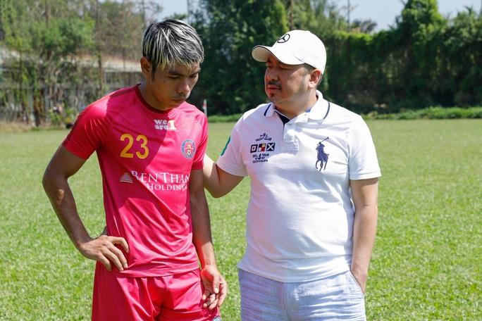 Nước cờ thú vị của Sài Gòn FC - Ảnh 1.