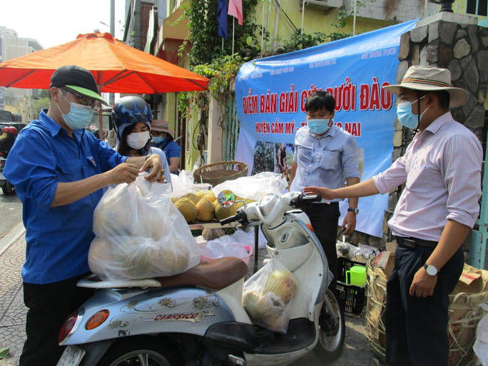 Ho Chi Minh City people rescue specialty peach grapefruit at the price of 15,000 VND / kg - Photo 6.