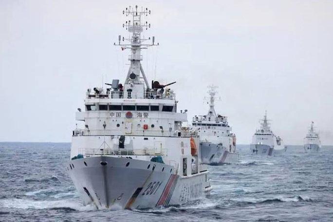 Đề nghị xác minh thông tin tàu hải cảnh Trung Quốc tiến gần giàn khoan của Việt Nam ở Biển Đông - Ảnh 1.