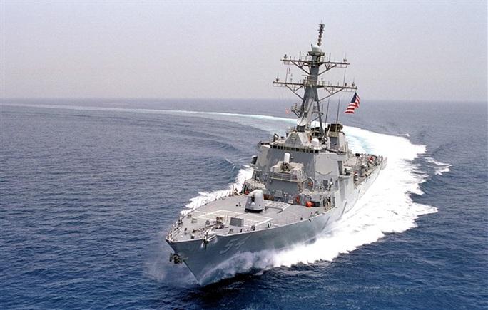 Trung Quốc tập trận, Mỹ cho tàu chiến qua eo biển Đài Loan - Ảnh 2.