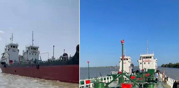 Gây cấn đường dây buôn bán xăng giả khủng, tìm thấy 2 tàu chống trả nhằm bỏ trốn - Ảnh 1.