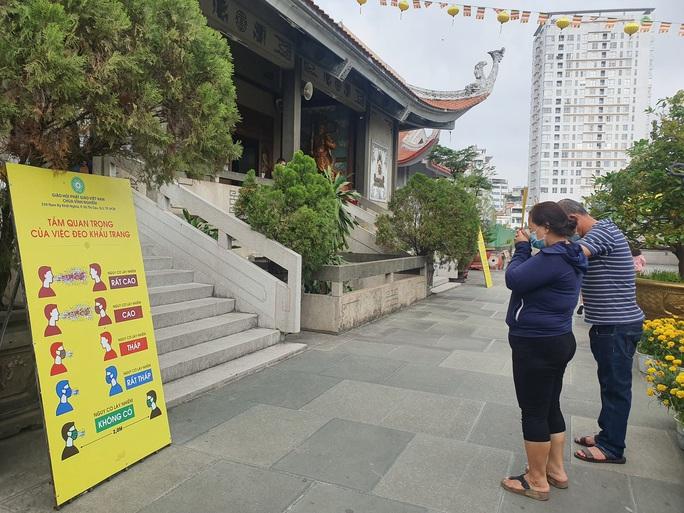 Cận cảnh viếng chùa Vĩnh Nghiêm, Việt Nam Quốc Tự, Phước Hải rằm tháng Giêng - Ảnh 2.