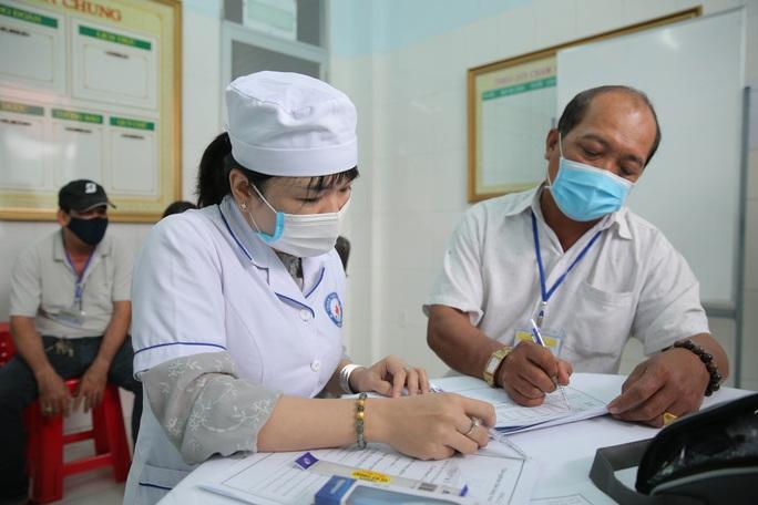 Tiêm thử nghiệm vắc-xin COVID-19 của Việt Nam cho 300 người ở Long An - Ảnh 8.