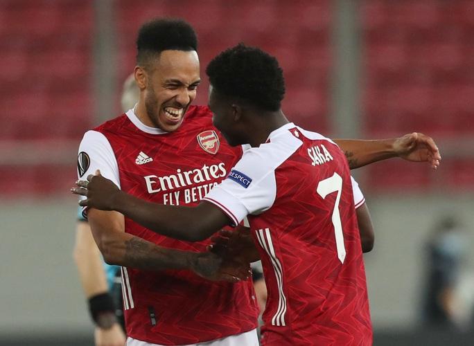 Rượt đuổi tỉ số nghẹt thở, Arsenal hạ Benfica ở Europa League - Ảnh 6.