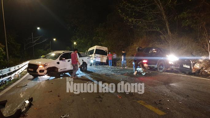 Tai nạn liên hoàn trên đèo Bảo Lộc, nhiều người bị thương - Ảnh 5.
