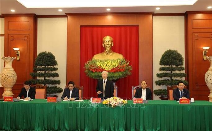 Gặp mặt các nguyên Ủy viên Bộ Chính trị, Ban Bí thư, Ủy viên Trung ương Khóa XII - Ảnh 6.