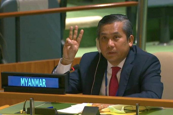 Nóng: Myanmar sa thải đại sứ cầu cứu Liên Hiệp Quốc - Ảnh 1.