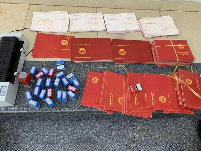Hàng ngàn văn bằng giả được gửi qua bưu điện - Ảnh 2.