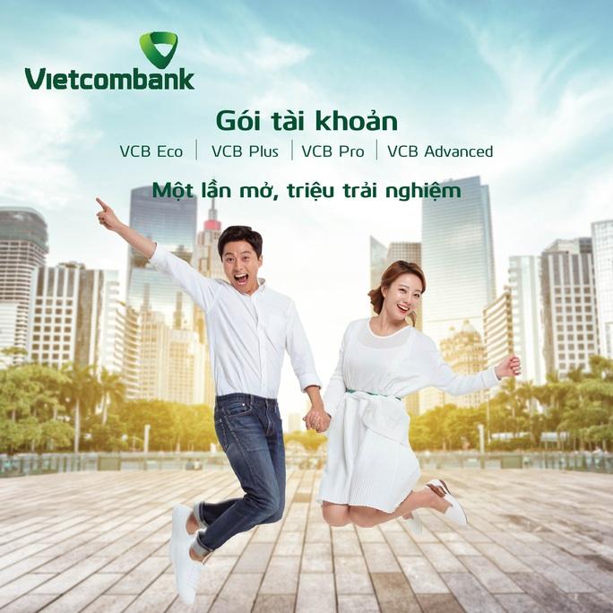 Vietcombank chào sân 4 gói tài khoản đặc biệt - Ảnh 1.