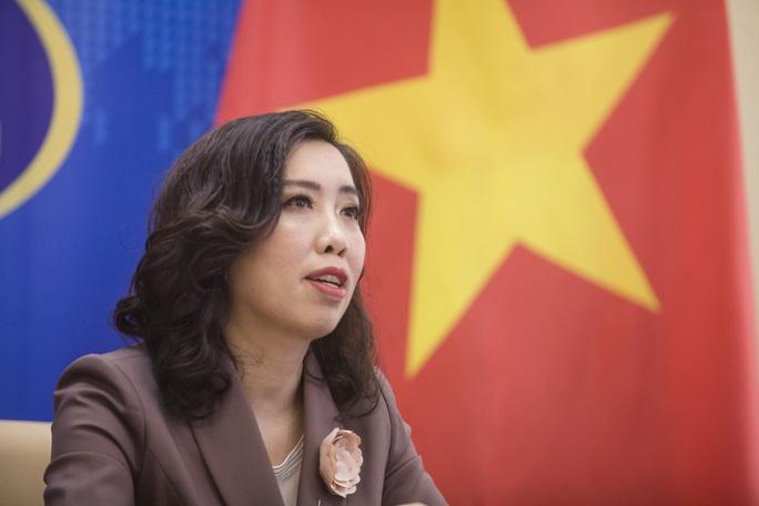 Người phát ngôn nói về đường lối đối ngoại của Đảng và Chính phủ Việt Nam với Trung Quốc - Ảnh 1.