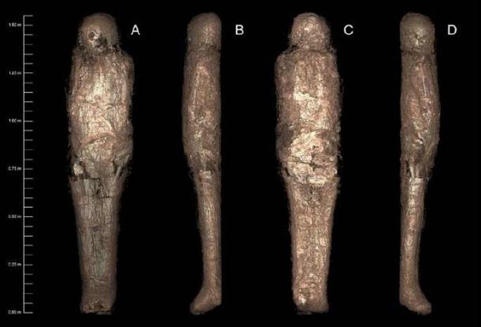 Cô gái  3.200 tuổi được ướp xác 2 lần theo cách lạ lùng nhất thế giới - Ảnh 2.
