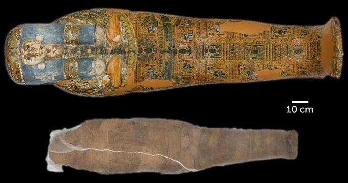 Cô gái  3.200 tuổi được ướp xác 2 lần theo cách lạ lùng nhất thế giới - Ảnh 1.